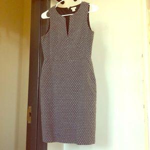 J Crew Jaquard dress size 4